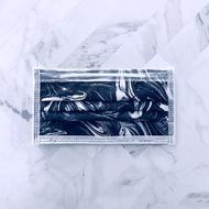 潑墨時尚系列 | 黑色漩渦  | 50 入 1 盒 | 成人醫療口罩