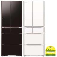 Hitachi R-F5700S-XK 589L Multi-Door Refrigerator