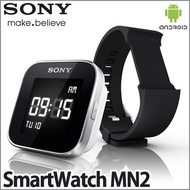 Sony SmartWatch MN2 For your Smart Life Genuine Bluetooth For Android Cell Phone Watch Black