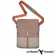 【URBAN TOOL】reporterBag 城市精靈電腦三用包(鐵銹棕/適用15 吋筆電)