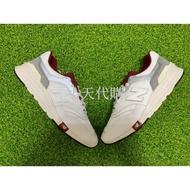 <小天代購> 6折 NEW BALANCE Cm997hga 復古 慢跑鞋 男女鞋 麂皮 白灰紅色 997