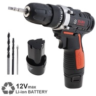 HABO Electric Power Cordless Drill with Rechargeable Lithium Battery