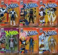 ☆勳寶玩具舖【現貨】漫威 Marvel Legends Uncanny X-Men 80周年 復古吊卡套 一套六款