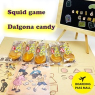 [Squid Game ] Dalgona Candy / Traditional sweet dessert /dalgona candy stick/caramel candy/