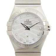 OMEGA 歐米茄 Constellation 星座系列波紋真珠母貝腕錶-27mm