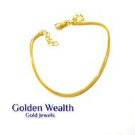 916 Gold Pandora  Bracelet Gelang Tangan Emas Tulen 916