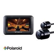 寶麗萊 Polaroid 蜂鷹 MS276WG SONY感光 機車雙鏡頭行車紀錄器-快