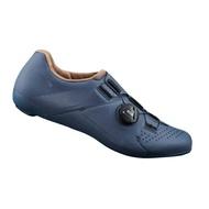 【7號公園自行車】SHIMANO RC3 女性基本款公路車卡鞋(湛藍)