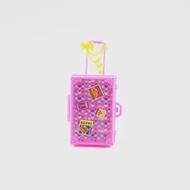 1Pcแฟชั่นตุ๊กตาอุปกรณ์เสริมเฟอร์นิเจอร์พลาสติกของเล่นเด็กเล่นHouse 3Dรถไฟเดินทางกระเป๋าเดินทา...