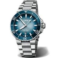 ORIS 豪利時 AQUIS 0173377304175-Set 貝加爾湖限量腕錶/藍面 43.5mm