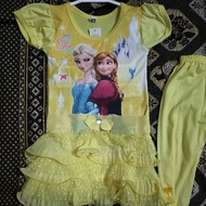 Frozen Dress with Pant For Kid