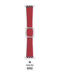 【 38 มม./40 มม.】ไมโครไฟเบอร์ 1: 1 สไตล์โมเดิร์นเปลี่ยนสายนาฬิกาสายนาฬิกาชายหญิงสำหรับ Apple Watch ซีรีส์ 1/2/3/4/5