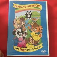寰宇迪士尼英文 Zippy DVD 2盒合售780