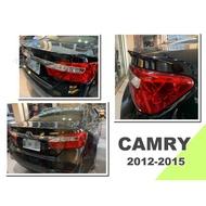 小亞車燈*new camry 2012 12 13 14 15 年 7代 7.5代 原廠 尾翼 小鴨尾翼 含烤漆