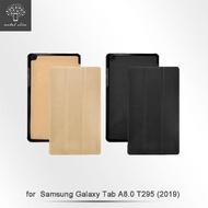 【Metal-Slim】Samsung Galaxy Tab A 8.0 2019 T295(高仿小牛皮三折立架式皮套)
