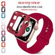 ProBefitเคสนาฬิกา + สายสำหรับApple Watch,เคสกันชนซิลิโคนเนื้อนุ่มพร้อมสายยางสำหรับApple Watch 3 2 1 42มม. 38มม. สำหรับI Watch 5 4 40มม. 44มม.