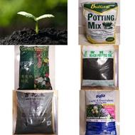 (Bundle of 4 or 5) Soil / Brilliant / Black Potting Mix / Garden Formula / Mixed Soil / Cacti Succulent / Cactus
