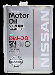 Nissan 日本原裝進口 0W20 原廠合成機油(4L) #3300