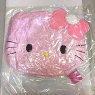 大賀屋 HELLO KITTY 頭型抱枕 抱枕 小枕頭 枕頭 粉色 凱蒂貓 三麗鷗 日貨 正版 授權 T00110064
