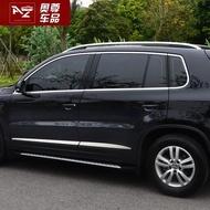 10-17款Tiguan Tiguan Allspace車窗亮條裝飾條車身亮條外飾條改裝配件用品