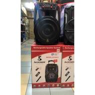 AVCROWNS 12inch Bluetooth Speaker Ch-8613