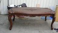 連冠二手家具 E201 歐式柚木餐桌 庫存貨 會議桌 洽談桌 戶外桌 仿古傢俱