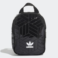 【adidas 愛迪達】BP MINI 3D 迷你小後背包 黑色 女款(FL9679)