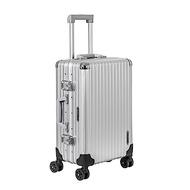 BENTLEY賓利 20吋全鋁鎂合金拉桿行李箱-銀