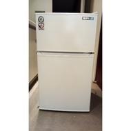 聲寶A11G雙門小冰箱100L