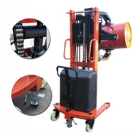 Electric Oil Drum Lift Truck Iron Barrel Dump Truck Loading and Unloading Stacker Cylinder Turnover Holding Clip Forklift 0.5 Ton