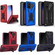 [ส่งจากไทย] Case Realme 8 / C25 / C21 / C20 / C12 / C17 / Realme 7i / 7Pro / C11 / C3 / Realme 6 / 6i / 6Pro / Realme5 / Oppo Reno5 / Reno4 เคสเรียวมี เคสหุ่นยนต์ เคสไฮบริด มีขาตั้ง เคสกันกระแทก