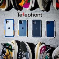 太樂芬telephant RENMD 首波 透大象灰框 黑白堆疊色塊配色 現貨供應中 iPhone12/12 Pro/12 Pro Max 原廠正貨