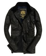 跩狗嚴選 絕版款 極度乾燥 Superdry 騎士夾克 M65 上蠟油布 黑 橄欖綠 軍綠 軍裝 外套 風衣 立領 長版