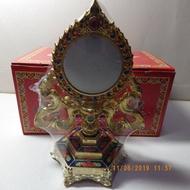 法輪準提鏡 約0.5kg 古法如法製作 準提法南師傳 佛母背面像 準提鏡息災/增益/敬愛/降伏/開悟
