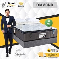 King Koil DIAMOND, Prince Collection Mattress & Full Bed Set (King, Queen, Super Single, Single)