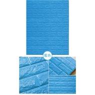 (出清)環保/歐盟☆雙認證☆ 超大立體磚紋泡棉牆壁貼【1入 / 6入組】3D仿磚塊造型 防水 防撞