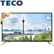 【滿額結帳折$200】TECO 東元 TL65U5TRE 65吋 4K 液晶顯示器+視訊盒
