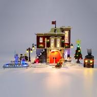 🎉QMI🎉 積木燈組 相容樂高 10263 冬季消防局 Lego 10263 Fire Station