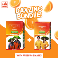 Dayzinc Capsule (30s) + Dayzinc Chewable Tablet (30s) with Free Face Mask