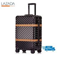 BAGGAGE LUGGAGEกระเป๋าเดินทางเวสเทิร์น ซีรีย์ สีดำ ขนาด 24 นิ้ว พร้อมส่ง