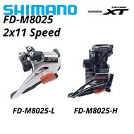 Shimano Deore XT FD M8025 FD-M8025-L FD-M8025-H 2x11 Speed MTB Bike Front Derailleur Clamp Dual-Pull