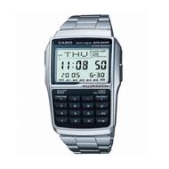 CASIO นาฬิกา DATABANK สายสแตนเลส รุ่น DBC-32D-1ADF - สีเงิน