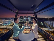 Cable Car Sky Dining - Stardust Private Cabin Package 4-course meal