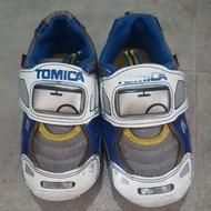 二手童鞋出清*正版 Tomica 警車 電燈鞋 發光鞋 19號