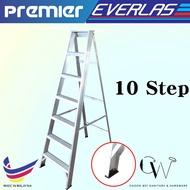 EVERLAST PREMIER 10 Step Home Ladder Single Sided Aluminium Ladder / Tangga Lipat Single Side / 楼梯