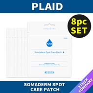 ★【PLAID】((8pc set))★hydeo-colloid bandage somaderm spot -s) [patch][Acne patch]