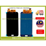 BSS Samsung J7 Pro J730 OLED Amoled Lcd + Touch Screen Digitizer Sparepart