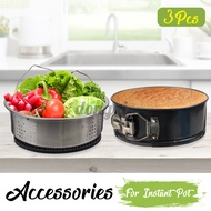 Accessories for Instant Pot 3-piece set of Instant Pot electric pressure cooker accessories