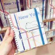 We Bare Bear Notebook Miniso
