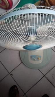 011009--中古16吋電風扇(可定時)(東銘電機ST-1651T)電扇 電風扇 風扇  電風扇 通風扇 涼風扇 座立